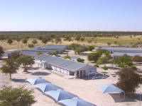 Ekulo senior secondary school in northern Namibia