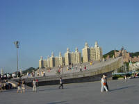 Xinghai Square and Beach Dalian China